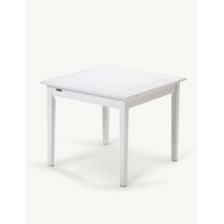Drachmann Stół Biały 86x86 cm