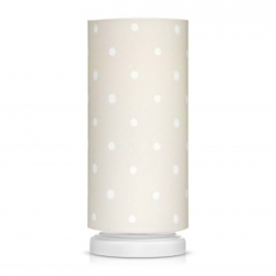 Lampka Nocna Lovely Dots Beige