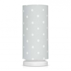 Lampka Nocna Lovely Dots Grey