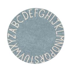 Dywan ROUND ABC VINTAGE BLUE-NATURAL 150 CM