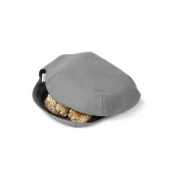 Serweta do chlebaka bawełniana szara