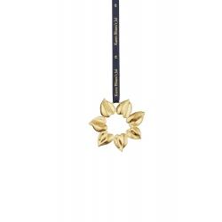 Ozdoba choinkowa Golden star, 8 cm, pozłacana