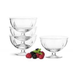 Zestaw 4 Pucharków Szklanych