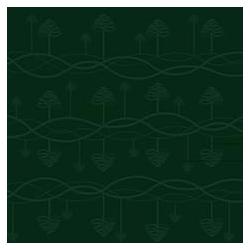 Obrus Tangle 140 x 320 cm - zieleń