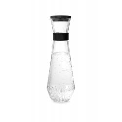 Karafka na wodę, czarne zamknięcie, 0.9 l