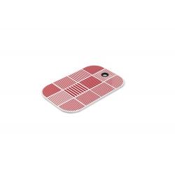 Deska do smarowania ND, czerwona, 29.5x19.5 cm, melamina