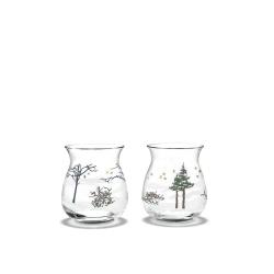 Świeczniki świąteczne, Tealights, 2 szt.