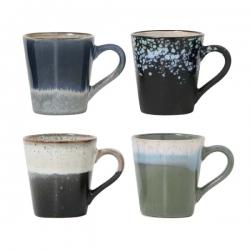 Zestaw kubków do espresso ceramicznych 70's - HK Living