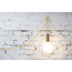 "Lampa ""WOODY TUBE"" by HOP Design"