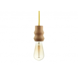 "Lampa WOODY ""SINGLE ZIG-ZAG"" by HOP Design"