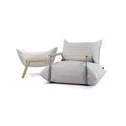 Fotel wełna i powietrze