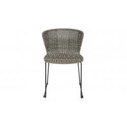 Krzesło WINGS szare (2 szt) - Woood