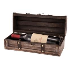 Drewniana skrzynka na wino Twine