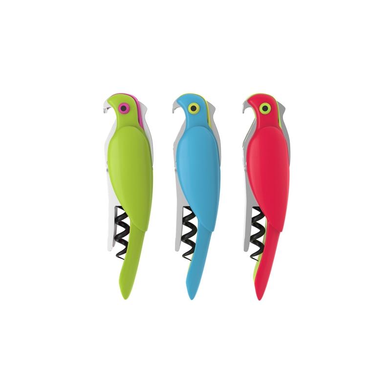 Korkociąg, otwieracz, stoper papuga TrueZoo