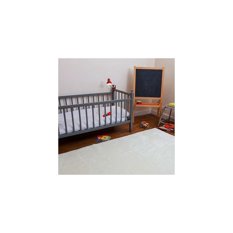 Dywan Prostokąt biały 140 x 300 cm