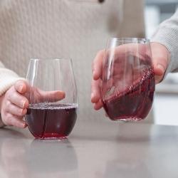 Szklanki aeracyjne do wina 2 szt. marki HOST®