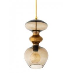 Lampa wisząca Futura, kasztanowa - 37 cmH
