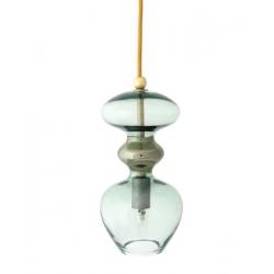 Lampa wisząca Futura, ciemnozielona - 24 cmH