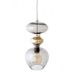 Lampa wisząca Futura, przydymiony szary - 37 cmH