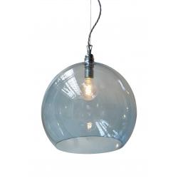 Lampa wisząca Rowan - ciemnoniebieska, Ø39cm