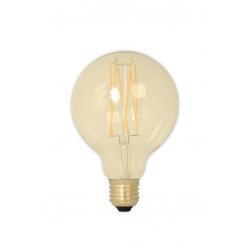 Żarówka Calex LED G80 - złota, 4W E27
