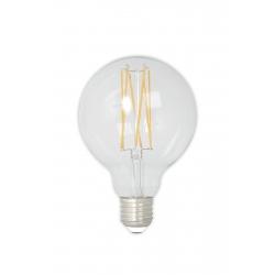 Żarówka Calex LED G95 - przeźroczysta, 4W E27
