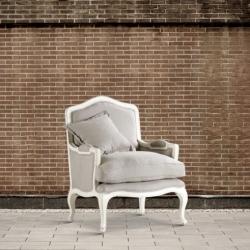 Fotel ecru DB001343