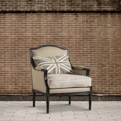 Fotel z poduszką Union Jack DB002974