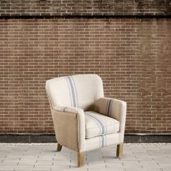 Fotel konturowany ćwiekami DB003042