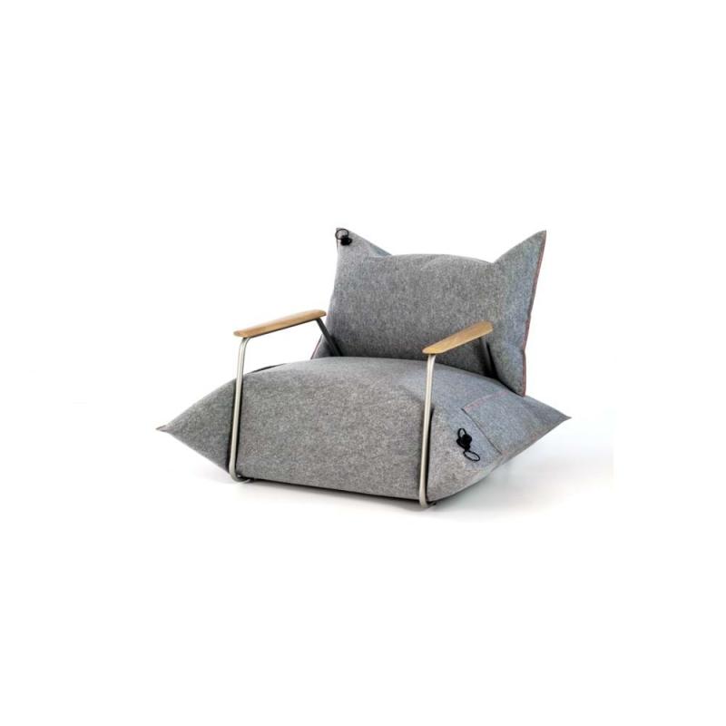 Fotel z podłokietnikami