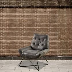Fotel postarzana skóra DB004027