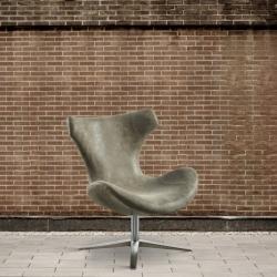 Fotel eko - skóra, beżowy DB004245