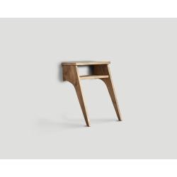 Stolik nocny z drewna z recyklingu DB004459