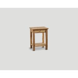 Stolik nocny z drewna z recyklingu DB004347