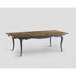 Stół rozkładany - prostokątny blat z mozaiką DB002924