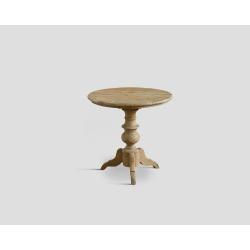 Stół z drewna z recyklingu - okrągły DB002358
