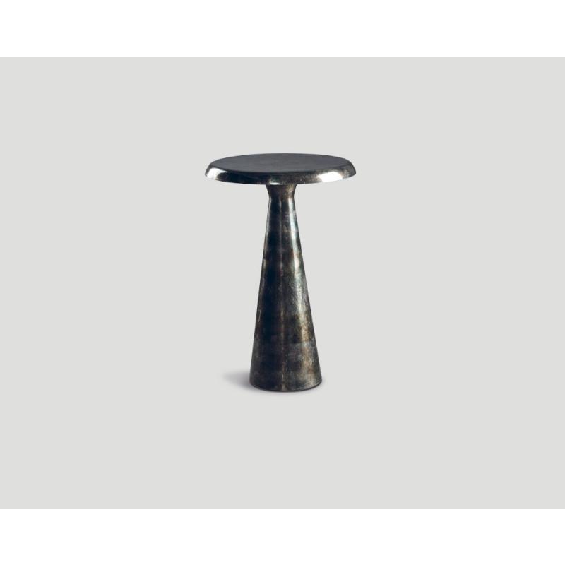 Okrągły stolik okazjonalny - aluminiowy DB004409