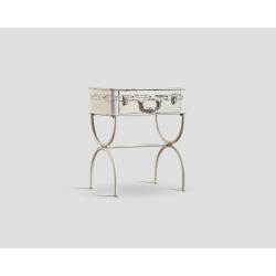 Prostokątny stolik okazjonalny z szufladą DB003130