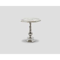 Ośmioboczny stolik okazjonalny - aluminiowy DB002669