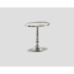 Okrągły stolik okazjonalny - aluminiowy DB002667