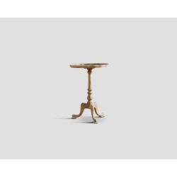 Okrągły stolik okazjonalny - dębowy DB002000