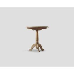 Okrągły stolik okazjonalny - dębowy DB001576