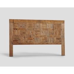 Zagłówek King Size z drewna z recyklingu DB004952