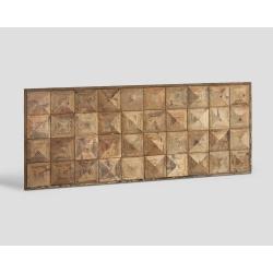 Zagłówek Universal z drewna z recyklingu DB003980