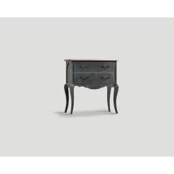 Mała komoda z dwiema szufladami - czarna DB002833