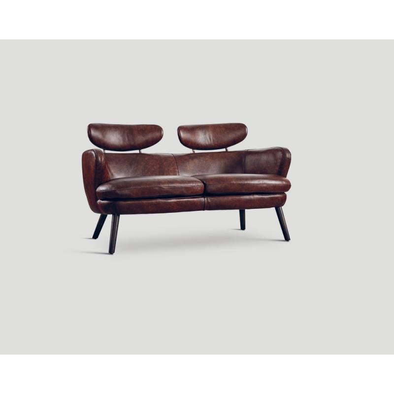 Sofa dwuosobowa - skórzana DB004918