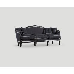 Sofa trzyosobowa - czarna DB004917