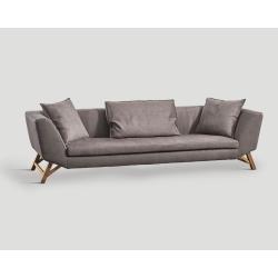 Sofa czteroosobowa - szara DB004791
