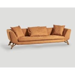 Sofa czteroosobowa - tamaryndowa DB004789