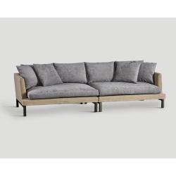 Sofa czteroosobowa - dzielona na dwie DB004724
